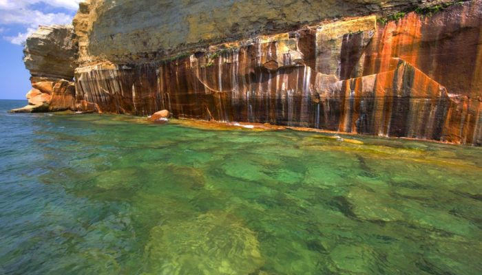 Cave-In Reported at Pictured Rocks