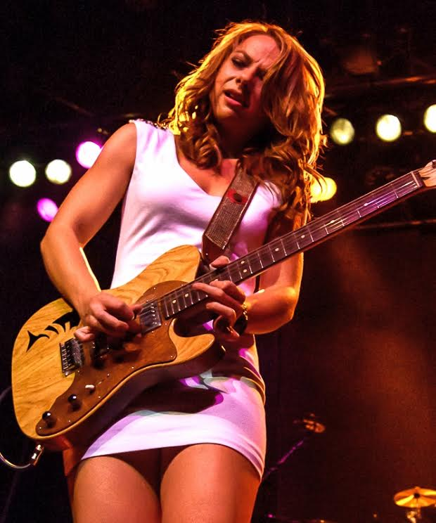 "I was finally able to catch Samantha Fish live in Kansas City last week for her CD release party for ""Black Wind Howlin"". Been itching to see Sam live since the CD/Marketing photo shoot back in maybe December of last year.........The show was fantastic as expected as Samantha, vocals and bad ass lead guitar, and her band ripped through all of the material on her new CD.....plus.....then to top it off an encore covering Black Sabbath's ""War Pigs"" for the first time live and without a hitch........Samantha hits the road soon in support of Black Wind Howlin, if she's anywhere near you, be sure to catch the show......We will be hearing a lot from Samantha in the future.......Enjoy the pics Jerry ;-) ©2005-2013 Jerry Moran Native Orleanian LLC More pics and a musical slideshow can be seen at http://www.nativeorleanian.org/samantha_fish_cd_release_harrahs_kansas_city_9_6_13"